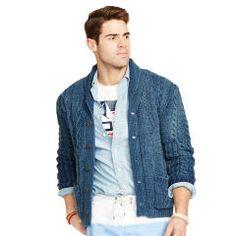 Indigo Cotton Shawl Cardigan - Polo Ralph Lauren Polo Ralph Lauren - RalphLauren.com
