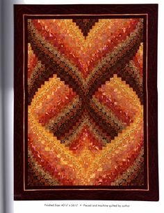 Northern Lights Bargello Quilt Pattern By Nancy Smith