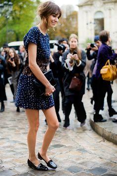 Alexa Chung #streetstyle #fashion #modeloffduty
