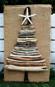 Extravaganza of Driftwood Christmas Tree Ideas! | Beach House Decorating