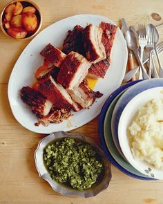 John Torode's signature 5-hour pork belly recipe is well worth the wait and the roast potatoes cooked in pork fat are quite simply to-die-for.