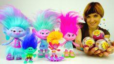 Детское видео. Мультик ТРОЛЛИ: детский сад с Машей и игрушками из мультф...