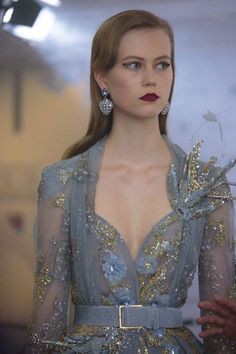 A look backstage with Elie Saab at Haute Couture Week Fall 2016