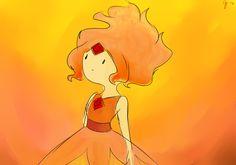 Flame Princess...again! by Rosita-Pink.deviantart.com on @deviantART