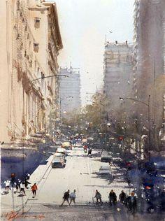 Paleta de color de Alvaro Castagnet y Joseph Zbukvic | Acuarela Online