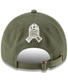 6ce7b3927aa New Era New England Patriots Salute To Service 9TWENTY Cap - Green  Adjustable Steelers Salute To
