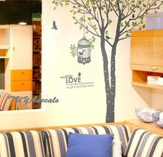 wall decals  Vinyl Wall Decal Nature Design Tree by TUYAdecals, $75.00