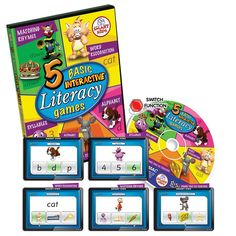 5 Basic Literacy Games
