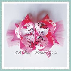 bow with tulle