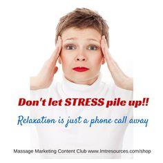 Massage Marketing Content Club ~ Marketing your massage business just got easier! #massage
