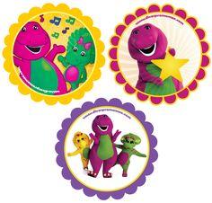 Barney Memory Game More Fun Printable Party Stuff