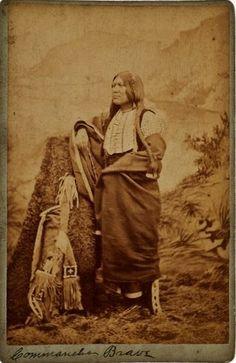 Comanche man - circa 1878