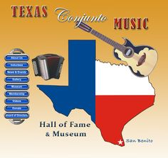 Texas Conjunto Music Hall of Fame and Museum in San Benito, Texas - www.texasconjuntomusic.org