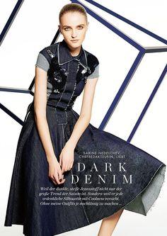 Dark Denim (Elle Germany)