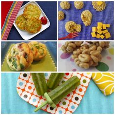 """Toddler Bites from Weelicious- great """"real food"""" kids' snack ideas Healthy Toddler Meals, Toddler Snacks, Healthy Foods To Eat, Healthy Dinner Recipes, Kids Meals, Healthy Snacks, Detox Recipes, Real Foods, Healthy Tips"""
