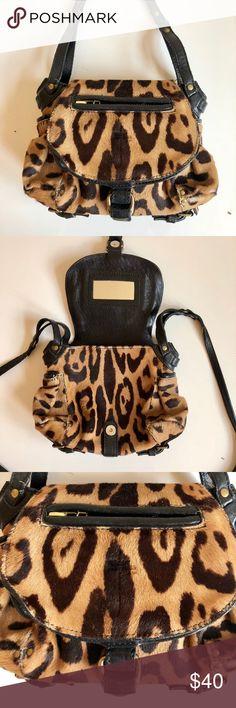 8dd61d990e2 Jerome Dreyfuss mini twee leopard calf hair bag