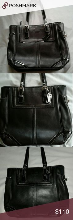 Coach Soft Leather est.1941 New Without tags! New Coach Classy handbag, Very soft leather! No marks in near to perfect condition! Nice size! This bag is a Steal! Purchased from Coach. Coach Bags Shoulder Bags