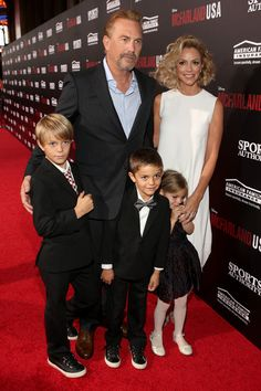 Kevin Costner and Christine Baumgartner Photos: 'McFarland, USA' Premieres in Hollywood — Part 2