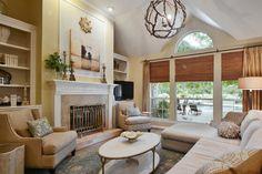 Residential interior design - Transitional - Living Room - austin ...