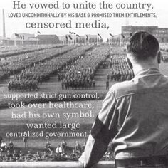 History repeats itself and America is distracted by day-to-day trivialities.
