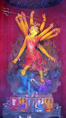 Durga Puja - Wikipedia, the free encyclopedia