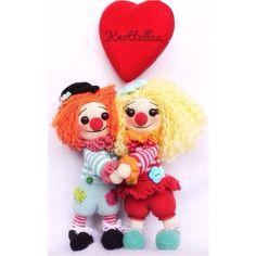 Crochet  @knottellaa Clown danceInstagram photo   Websta (Webstagram)