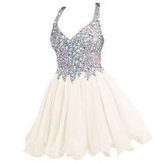 Babyonline Ivory Short Prom Dresses For Teens 2015 Cheap Graduation Dresses