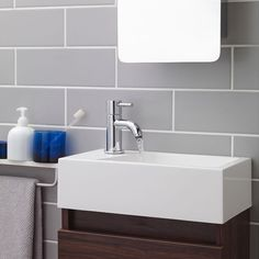 The Verity mono basin mixer is perfect for a cloakroom suite