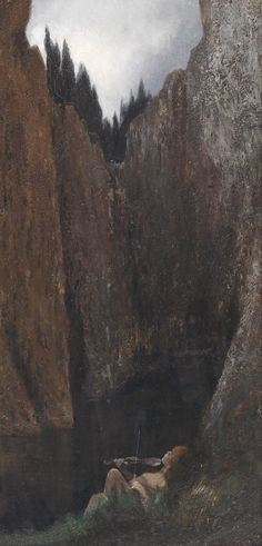 Karl Wilhelm Diefenbach ~ Symbolist and Art Nouveau painter Art Nouveau, Moonlight Painting, Strange Flowers, Art For Art Sake, Romanticism, Fantastic Art, Dark Art, Sculpture Art, Street Art