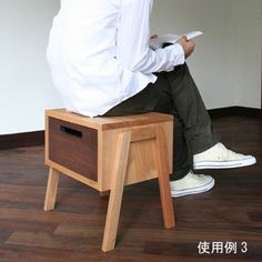 Made in Japan, Tokotoko stool is a is a versatile piece of furniture that can serve for multiple use. It can be either used as a bedside table or a coffee table, a stool or even create a shelve unit by stacking it one on top of the other and this makes it an ideal furniture for small spaces.