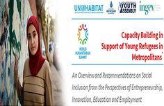 """İnsani gelişme Vakfı (İNGEV), Dünya İnsani Zirvesi için  """"Genç Mülteciler Raporu"""" Hazırladı…"""