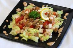 Diétás cézár saláta