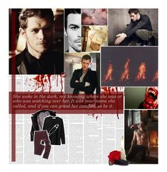 """""""The originals - Klaus"""" by lejournaldessecrets ❤ liked on Polyvore featuring IRO, Georges Rech, H&M and vintage"""