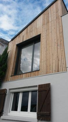 M2 et Compagnie - Pierre Labourdette - architecture bois - wood house - surélévation - Chatou - 2012