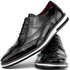 Kit Sapato Social Oxford Com Relógio Paulo Vieira 046L Preto Mens Shoes Boots, Leather Shoes, Men's Shoes, Shoe Boots, Shoes Sneakers, Dress Shoes, Best Shoes For Men, Gents Fashion, Mens Clothing Styles
