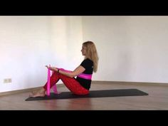 Fitlab Pilates. Упражнение дня. 24.06.2015 - YouTube