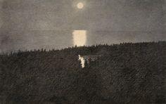 Theodor Kittelsen, «Måneskinn»