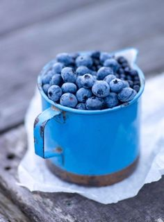 cup of superfood #blueberries