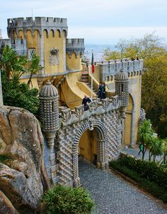 Palacio da Pena, Portugal ~ UNESCO World Heritage Site. Photo: KarlGercens.com, via Flickr
