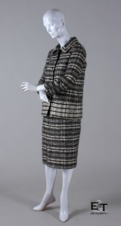 CHANEL, Two-Piece Wool Suit, 1960s