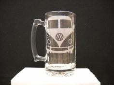 Hey, I found this really awesome Etsy listing at https://www.etsy.com/listing/61740419/vw-bus-on-beer-mug