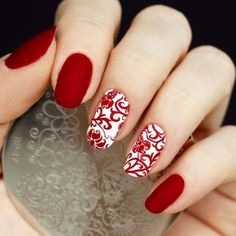 valentines-day-nails-64 89 Most Fabulous Valentine's Day Nail Art Designs #nailart