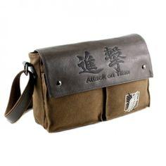14957845ad7 Anime Shoulder Bag Attack on Titan no Kyojing Scouting Canvas Messenger  Satchels