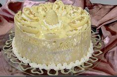 Bolo branca de neve, de Maria do Socorro - Espaço das delícias culinárias