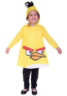 Angry Birds Yellow Costume  3T4T *** To view further for this item, visit the image link.