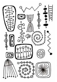 Retro Beadprints Deeply Etched Rubber stamp for Clay. $9.95, via Etsy.