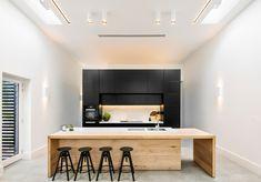 Black Rabbit Architecture + Interiors is a small design practice delivering unique, highly personalised architecture, interior spaces, furniture and styling! Dining Nook, Interior, Home, Interior Architecture, Home Lighting, Creative Home, Caesarstone, Bathroom Design, Kitchen Design