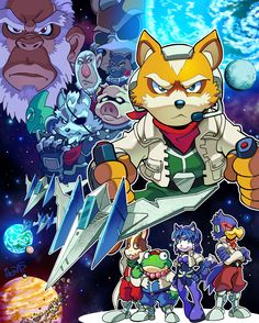 Star Fox by herms85 on @DeviantArt