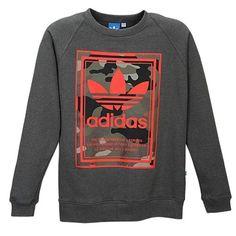 4d6fe503f8917 adidas Originals Graphic Crew - Men s at Eastbay Adidas Originals