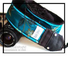 really pretty camera strap!